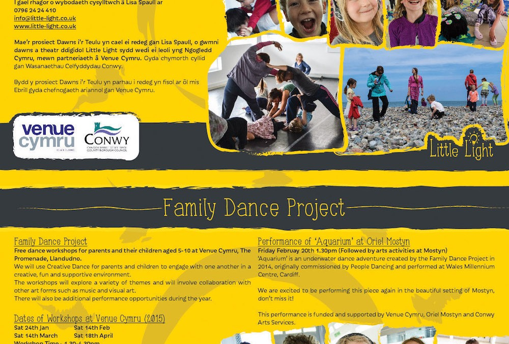 Family Dance Project 2015